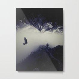 Mountain Fog by GEN Z Metal Print