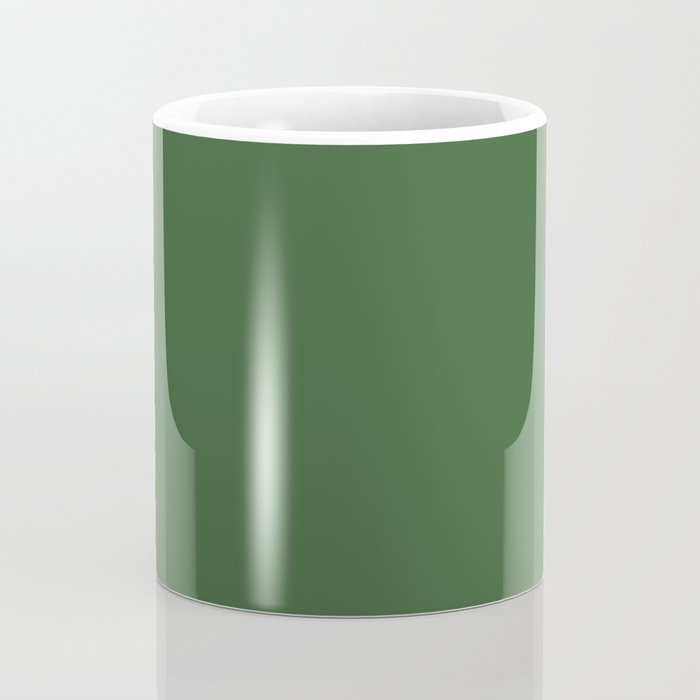 Kiss of Spring ~ Green Coordinating Solid Coffee Mug