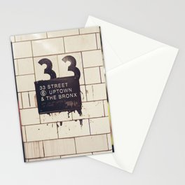 33rd Street & The Bronx Stationery Cards