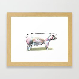 Porko Framed Art Print