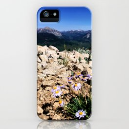 Blooming at high altitude iPhone Case