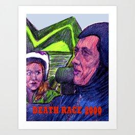 Death Race 2000 Art Print