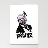 political Stationery Cards featuring political zombie theme by Krzysztof Kaluszka