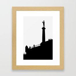 Belgrade - The Victor (Pobednik) Framed Art Print