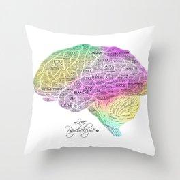 Cerveau Throw Pillow