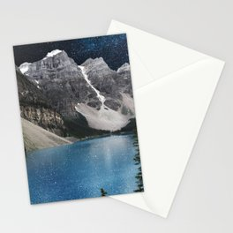 Midnight Moraine Stationery Cards