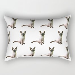 Siamese Kitten Rectangular Pillow