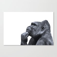 Thought Process Canvas Print