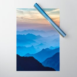 Mountains 11 Wrapping Paper