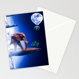 Elephant Land Stationery Cards