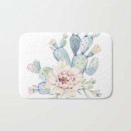 Perfect Cacti Rose Bath Mat