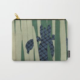Japanese Iris Carry-All Pouch