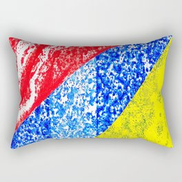 Handmade geometry Rectangular Pillow