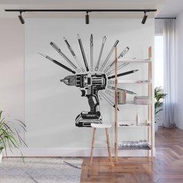 Power Art Tools Wall Mural