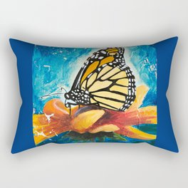 Butterfly - Discreet clarity - by LiliFlore Rectangular Pillow
