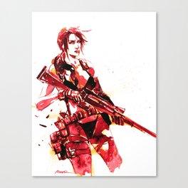 Silent Sniper  Canvas Print