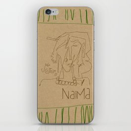 Naima iPhone Skin