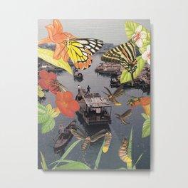 Saigon Metal Print