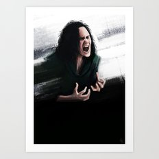 Trust my rage Art Print