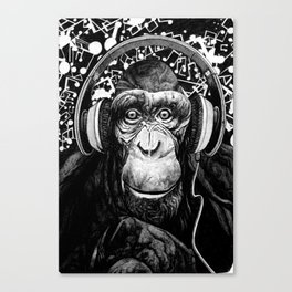 Hear no Evil Canvas Print