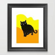 Cats Life 3 Framed Art Print
