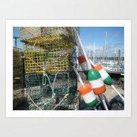 irish Art Prints featuring Irish by courtney2k ⚓ design™