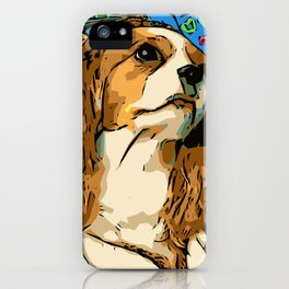 Cavalier King Charles Renaissance Princess iPhone Case