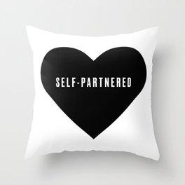 Self-partnered Throw Pillow
