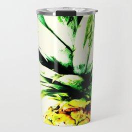 Golden Pineapple Travel Mug