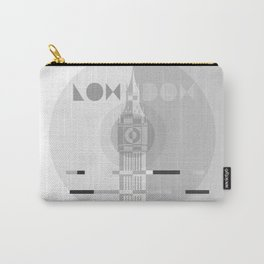 London Big Ben B&W Carry-All Pouch