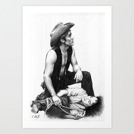 james dean 2 Art Print