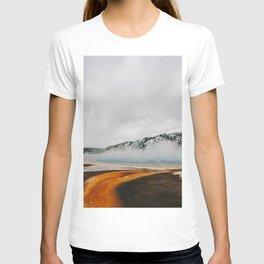 Grand Prismatic Spring Boardwalk, Yellowstone National Park T-shirt