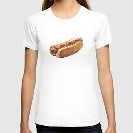 Just Hot Dog T-shirt