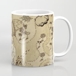 The Wizard world of Hogwarts Coffee Mug