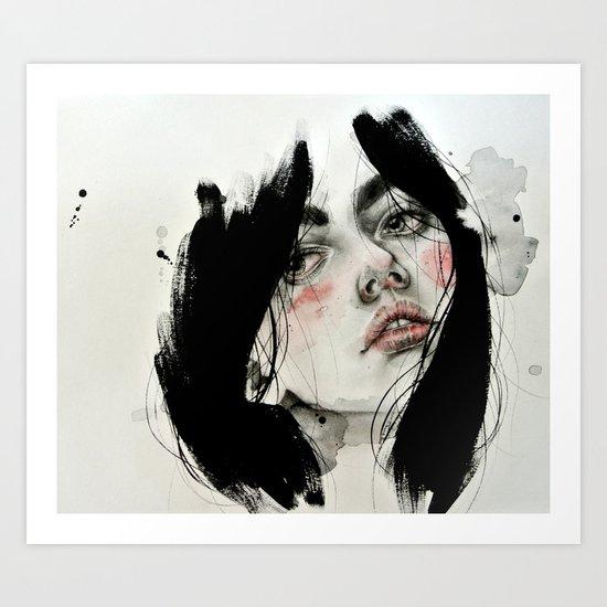 Seven Art Print