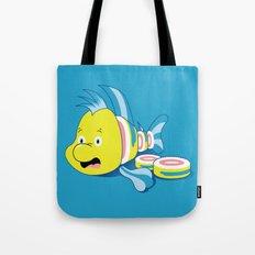Flounder Sushi Tote Bag