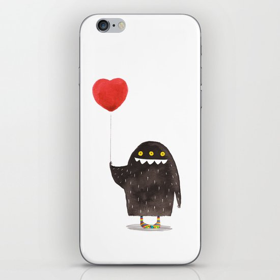 Love Monster iPhone & iPod Skin