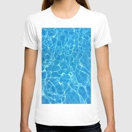 pool water T-shirt