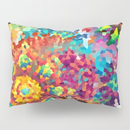 Party of Colors Pillow Sham