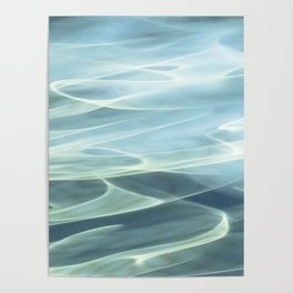 Water abstract H2O # 22 Poster
