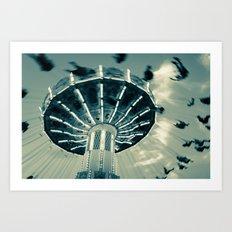 The Wave Swinger Art Print
