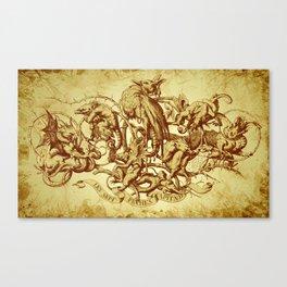 Sins Canvas Print