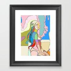 The Clique II, Quin Framed Art Print