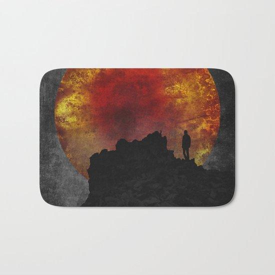 ash and fire Bath Mat