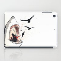 shark iPad Cases featuring shark by SOF.T
