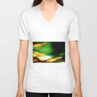 planes V-neck T-shirts featuring Planes by Sandra Ireland Images