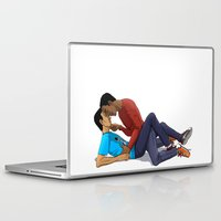 boys Laptop & iPad Skins featuring Boys by Ilthit