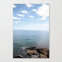 cape cod Canvas Prints featuring Cape Cod by lhcreative