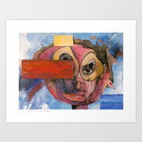 I feel resentful Art Print