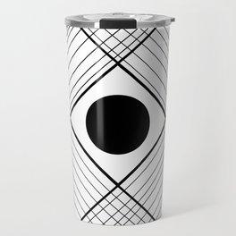 Interlaced Lines Travel Mug